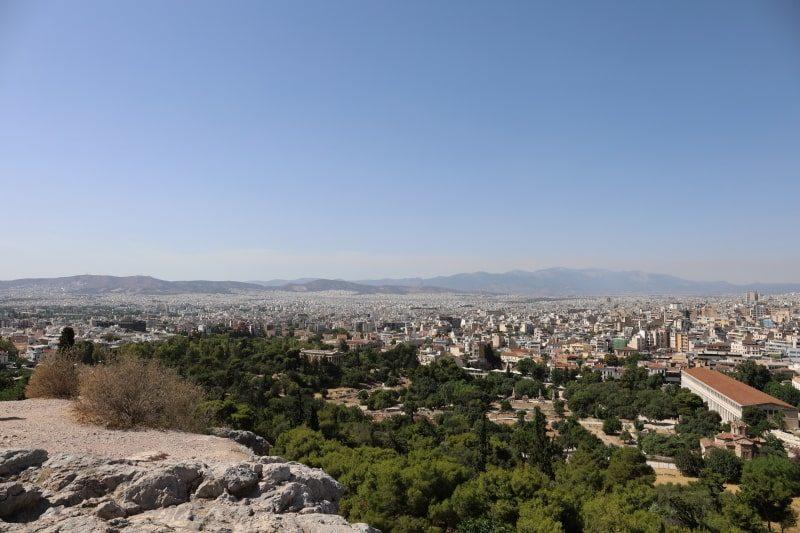 アレオパゴスの丘からの眺め1